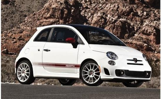 The Fiat 500 Abarth. Photo by Fiat.