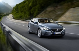 The Volvo V40. Photo by Volvo.