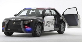 Carbon Motors was denied a DOE loan for a more efficient police cruiser. Photo by Carbon.