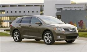 The 2011 Toyota Venza. Photo by Toyota.