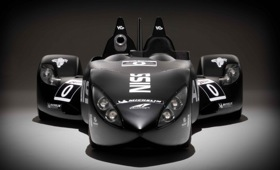 The Nissan DeltaWing. Photo by Nissan. Photo courtesy of Car and Driver.