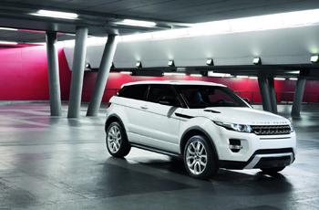 2011 Range Rover Evoque. Image courtesy Land Rover. 