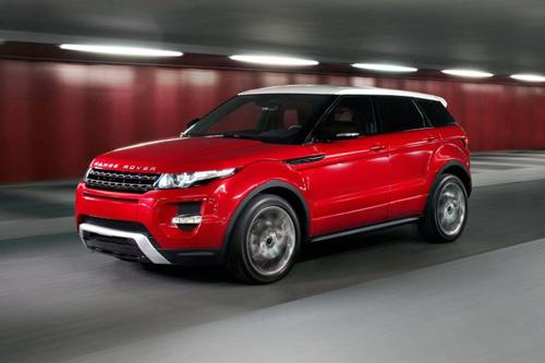 2012 Range Rover Evoque. Image courtesy Land Rover.