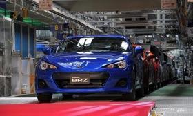 The Subaru BRZ will be in U.S. showrooms in May.