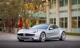 The Fisker Karma. Photo courtesy of Fisker Automotive.