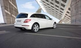Mercedes dealers sold 293 copies of the R-class through the first two months of this year, one-third less than the number sold in the first two months of 2011. Photo by Mercedes-Benz.