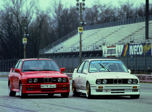 1988 BMW M3. Image courtesy BMW.