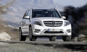 The 2013 Mercedes GLK gets revised styling and a diesel variant.&#10;