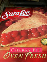Credit:  Paul Sakuma/AP&#xA;Caption: Sara Lee pies on display