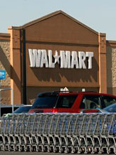 Credit: (©Mel Evans/AP)Caption: Wal-Mart Store