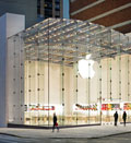 Credit: ( 2010 Apple Inc.)&#10;Caption: Apple retail store, Upper West Side, New York