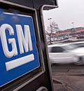 General Motors logo © Scott Olson/Getty Images