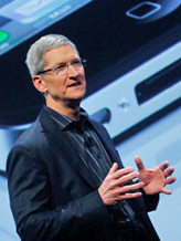 Credit: Apple Chief Operating Officer Tim Cook ((C) Chris Hondros/Getty Images)