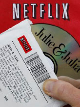 Credit: ( Paul Sakuma/AP)&#10;Caption: Netflix DVD