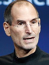 File photo of Apple CEO Steve Jobs (© Tony Avelar/AP)