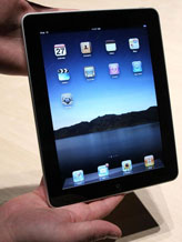 Credit: ( Justin Sullivan/Getty Images)&#10;Caption: Apple iPad