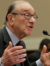 Credit: ((C) J. Scott Applewhite/AP)&#10;Caption: Alan Greenspan