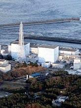 Credit: (© Yasushi Kanno, The Yomiuri Shimbun/AP)Caption: The Fukushima Daiichi power plant in Okumamachi, Fukushima prefecture, Japan