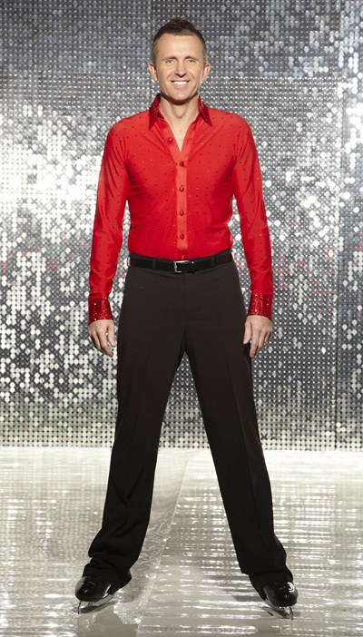 Dominic Cork Dancing On Ice (C) ITV