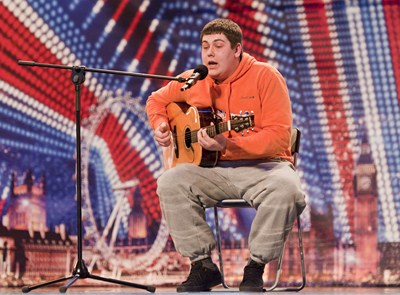 Michael Collings (C) ITV Britain's Got Talent