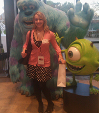 Emma at Pixar 