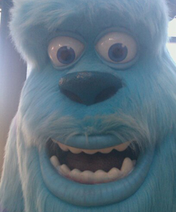 MSN UK, Sulley guards the studios