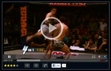 BAMMA fight video (c) Syfy