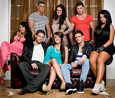 Cast of Geordie Shore (c) MTV