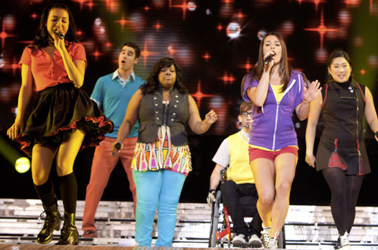 (c) Glee The 3D concert movie in cinemas from today