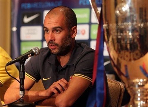 Pep Guardiola. Foto: Europa Press / FCB