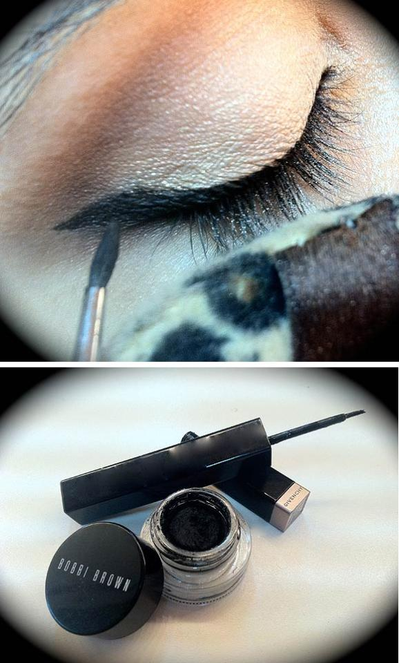 Eye liners de Bobby Brown y Givenchy