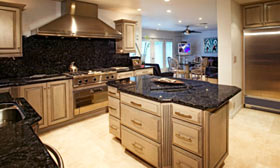 Stephane Fitch with Forbes says Americans' love affair with stone countertops has cost us more than the first Gulf War. (© Fuse/Getty Images)