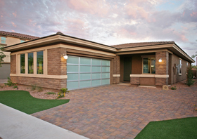 Net-zero home in Arizona (© Meritage Homes)