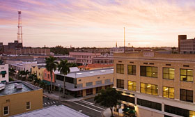 Downtown Fort Myers, Fla.