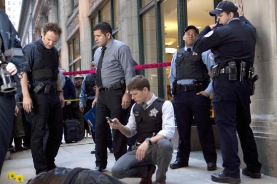 Jason Clarke (standing), Matt Laura (foreground)