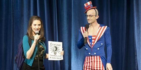 Alison Brie, Jim Rash