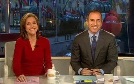 Meredith Vieira and Matt Lauer/NBC