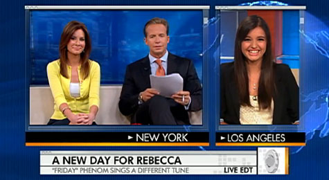 Rebecca Black talks 'Friday,' haters and 'My Moment' on 'The Early Show'