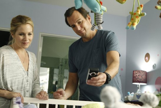 christina applegate & will arnet on 'Up All Night'