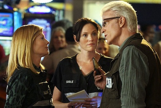 Ted Danson joins the 'CSI' team - photo courtesy of CBS