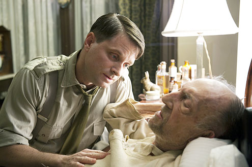 Shea Wigham and Tom Aldredge in Boardwalk Empire (Macall B. Polay/HBO)