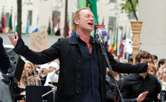 Sting Performs on 'Today'