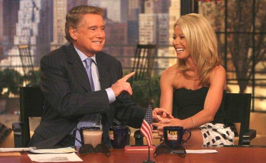 Philbin pushed out of Live with Regis and Kelly?