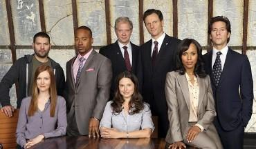 The cast of ABC's Scandal