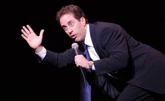 Jerry Seinfeld Host 'LIVE!' Regis Philbin November 2011