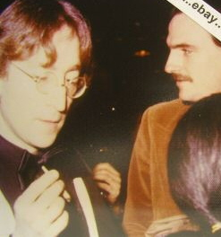 John Lennon and James Taylor