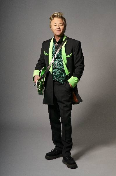 Brian Setzer by Tony Nelson