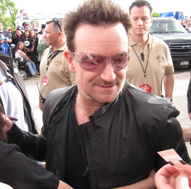 Bono copyright 2011 Mark Brown