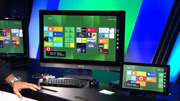 Windows 8 is designed to work on all hardware.