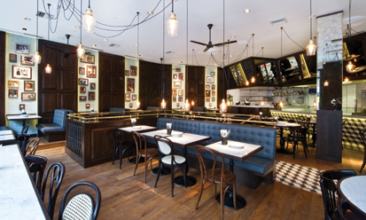 Dishoom Indian brasserie in London